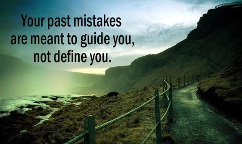 Quote about past mistakes